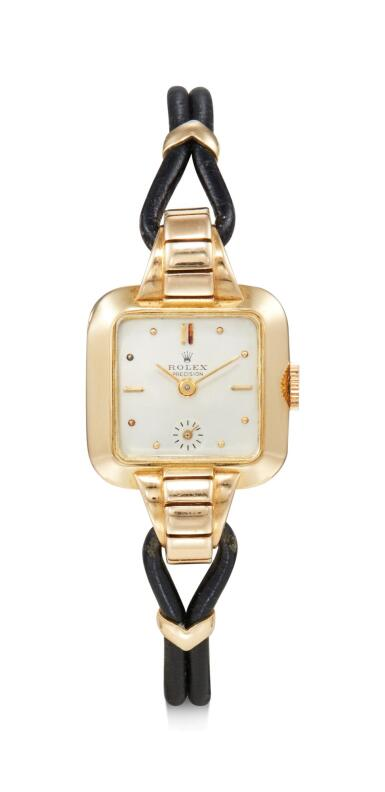 View 1. Thumbnail of Lot 8093. ROLEX   REFERENCE 4381, A YELLOW GOLD WRISTWATCH, CIRCA 1945.