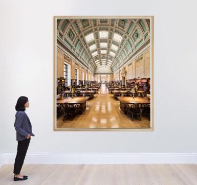 View 4. Thumbnail of Lot 164. Loker Reading Room – Widener Library, Harvard University, Cambridge.