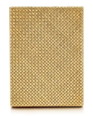 GOLD CIGARETTE CASE, VAN CLEEF & ARPELS   K金煙盒, 梵克雅寶(Van Cleef & Arpels)