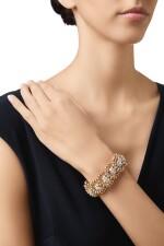 GOLD AND DIAMOND BRACELET, VAN CLEEF & ARPELS, FRANCE
