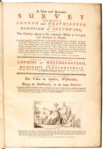 Rocque | A New and Accurate Survey of the Cities of London and Westminster, 1748