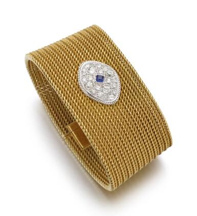 GOLD, SAPPHIRE AND DIAMOND BRACELET | PIAGET