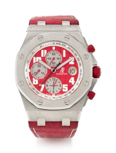 ROYAL OAK OFFSHORE CHRONOGRAPH 'RHONE-FUSTERIE', REFERENCE 26108 LIMITED EDITION STAINLESS STEEL CHRONOGRAPH WRISTWATCH WITH DATE (CRONOGRAFO IN ACCIAIO INOSSIDABILE CON DATARIO IN EDIZIONE LIMITATA) CIRCA 2008 | AUDEMARS PIGUET