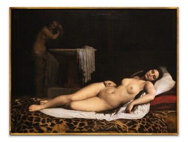 View 2. Thumbnail of Lot 69. The odalisque.
