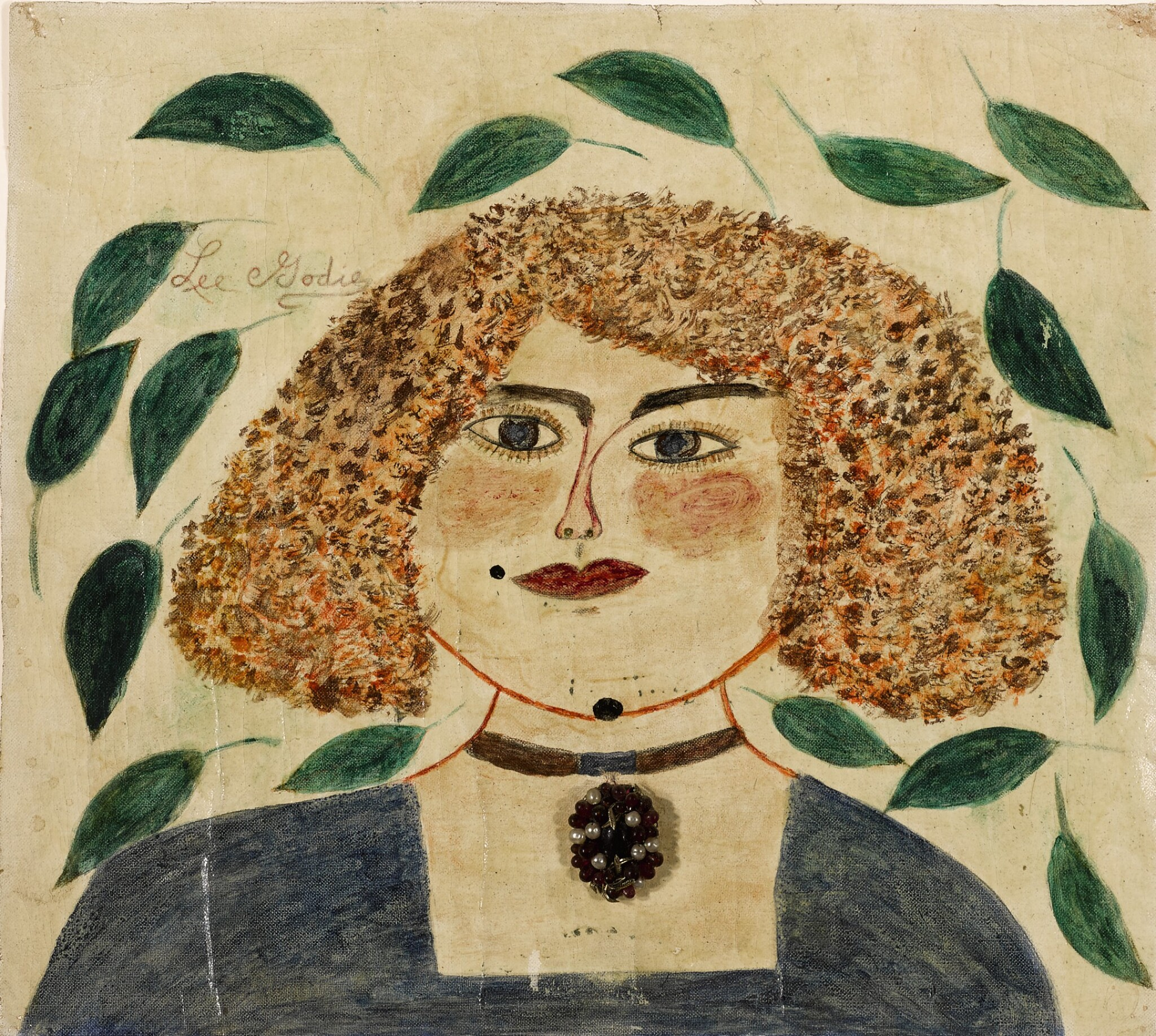 View full screen - View 1 of Lot 1504. LEE GODIE | SELF-PORTRAIT.