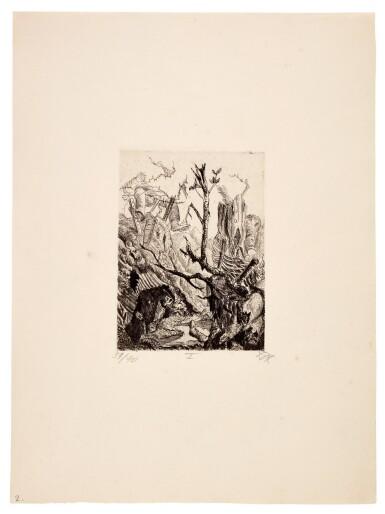 View 12. Thumbnail of Lot 19. Der Krieg (K. 70 - 119).