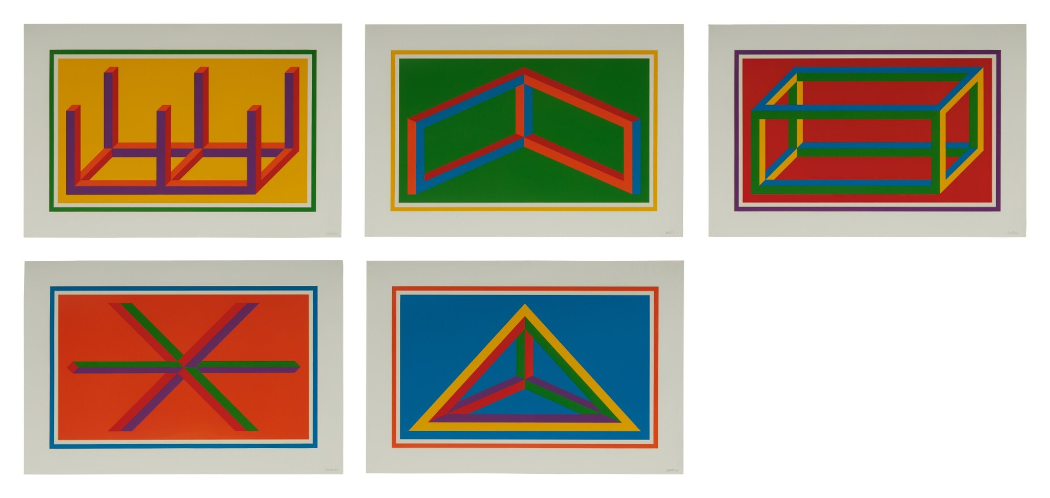 View 1 of Lot 99. Isometric Figures (K. 2002.01).