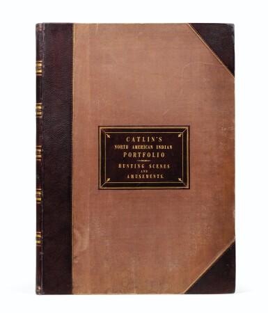 View 2. Thumbnail of Lot 146. CATLIN. North American Indians portfolio. Londres, 1844. 25 planches coloriées à la main. Premier tirage..