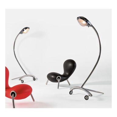 "MARC NEWSON | PAIR OF ""SUPER GUPPY"" LAMPS"
