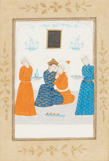 View 5. Thumbnail of Lot 67. INDIA AND CENTRAL ASIA, 17TH-19TH CENTURIES | THREE MINIATURES.