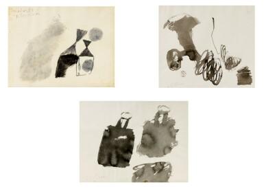 Julius Bissier | Sans Titre [3 oeuvres]
