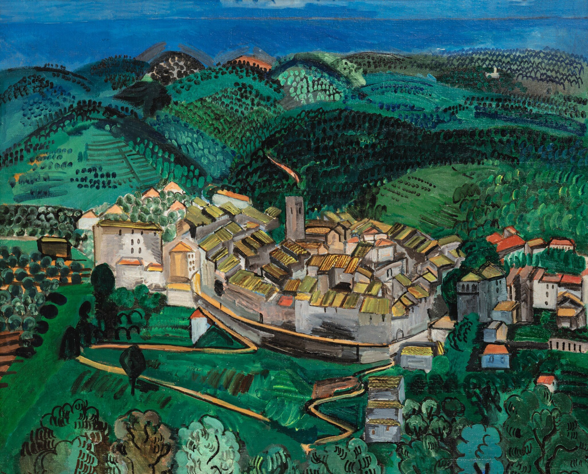 View full screen - View 1 of Lot 25. RAOUL DUFY | VENCE.