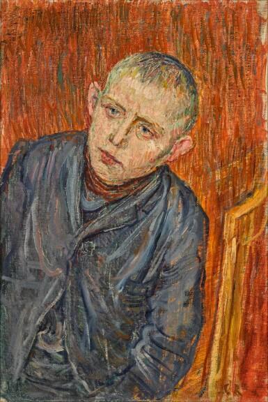 View 1. Thumbnail of Lot 17.  CHRISTIAN ROHLFS | KNABENPORTRAIT (PORTRAIT OF A BOY).