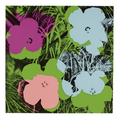 View 2. Thumbnail of Lot 63. ANDY WARHOL | FLOWERS (F. & S. II.64-73).
