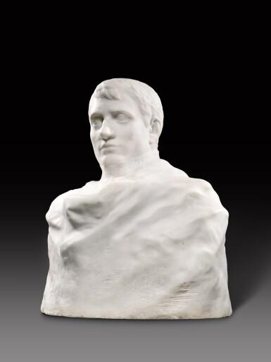 View 5. Thumbnail of Lot 1016. Auguste Rodin 奧古斯特・羅丹 | Napoléon Enveloppé dans Son Réve 逐夢的拿破崙.