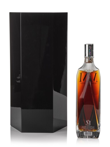 View 2. Thumbnail of Lot 75. The Macallan M Decanter 2013 Edition 1824 Series 44.5 abv NV .