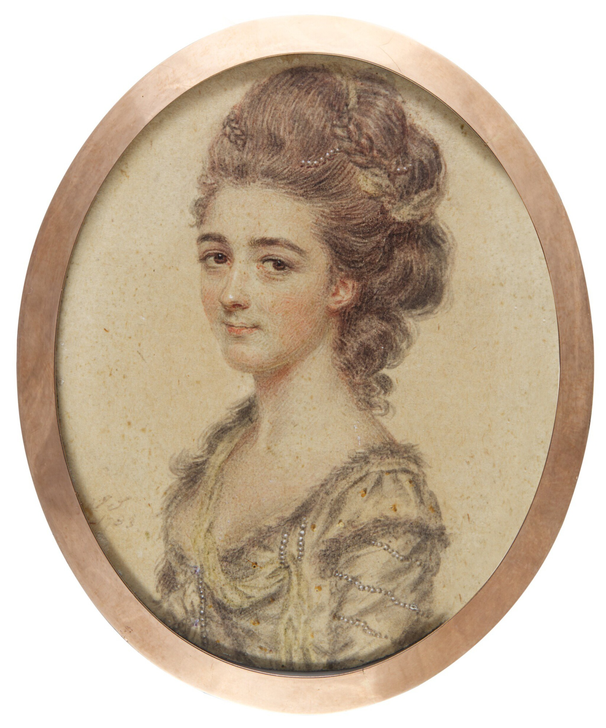 View full screen - View 1 of Lot 300. JOHN SMART | PORTRAIT OF A LADY.