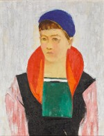 Girl in a Blue Beret