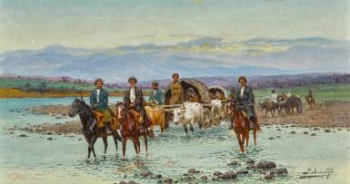 RICHARD KARLOVICH ZOMMER | River Crossing