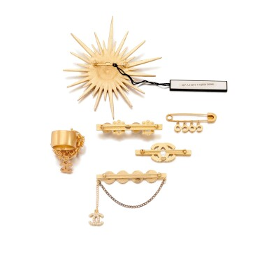 Collection of brooches and a ring