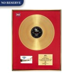 "BPI 1987 Gold Sales Award presented to Michael Diamond for the 1986 Beastie Boys album ""Licensed to Ill"""