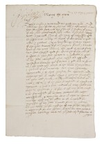 Queen Mary I and Philip of Spain, letter signed by both, 20 April 1555