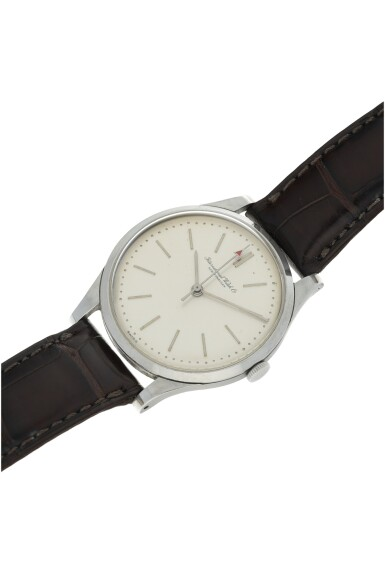 View 4. Thumbnail of Lot 84. IWC | A STAINLESS STEEL CENTER SECONDS WRISTWATCH, CIRCA 1975.