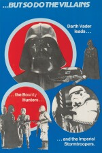 THE EMPIRE STRIKES BACK, SET OF 4 MARLER HALEY POSTERS, BRITISH, 1980