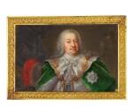 A portrait miniature of Count Hermann Carl Graf von Keyserling, probably German, circa 1750-1760