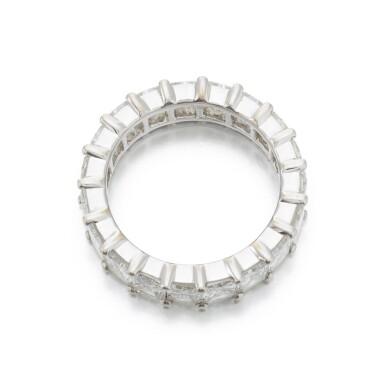View 3. Thumbnail of Lot 146. Diamond eternity ring (Riviera in diamanti).