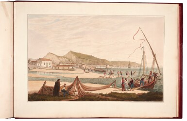 View 3. Thumbnail of Lot 165. Cartwright | Views in the Ionian Islands, 1821.