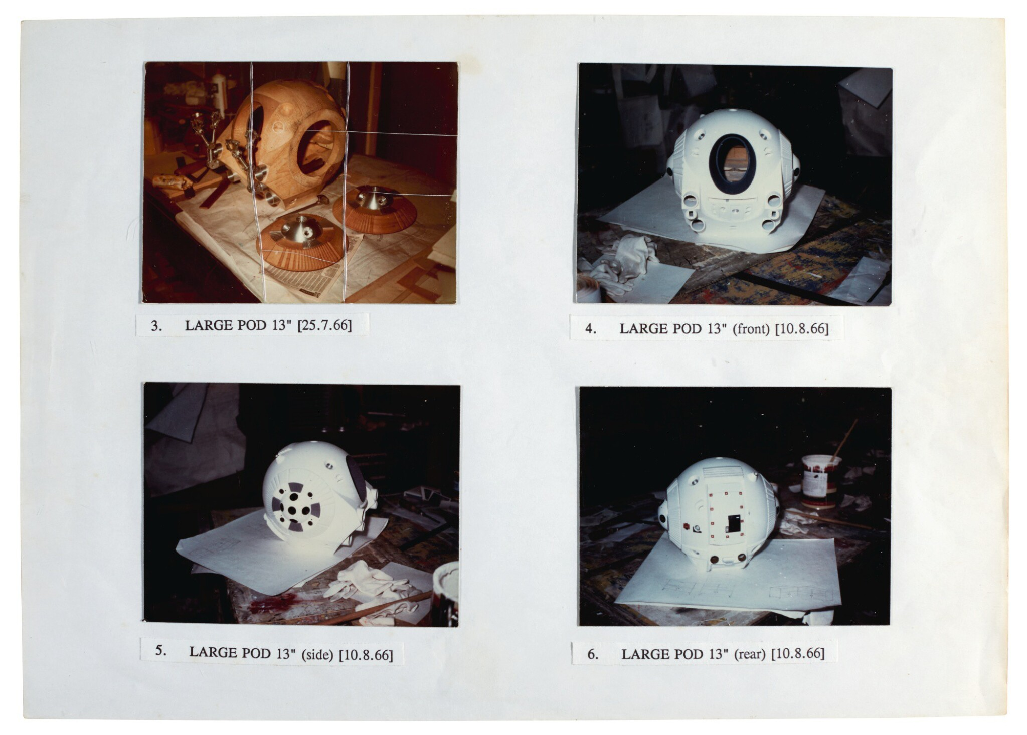 View full screen - View 1 of Lot 203. KUBRICK | Archive relating to the production of 2001: A Space Odyssey.