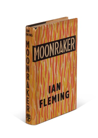 View 2. Thumbnail of Lot 16. FLEMING   Moonraker, 1955, first edition, presentation copy inscribed to Raymond Chandler.