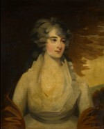 ATTRIBUTED TO JOHN JAMES MASQUERIER, R.A. | Portrait of a lady