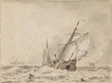 WIGERUS VITRINGA | Vessels on a choppy sea