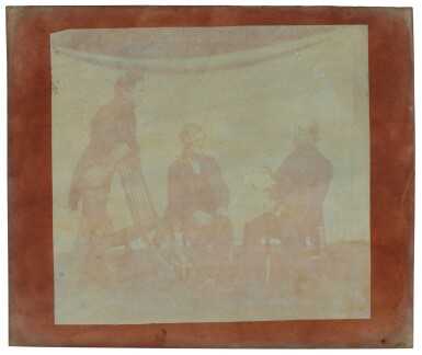 View 29. Thumbnail of Lot 11. William Henry Fox Talbot's Gifts to his Sister: Horatia Gaisford's Collection of Photographs and Ephemera.