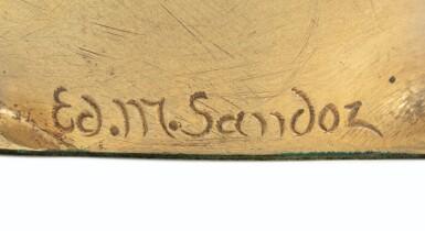 View 3. Thumbnail of Lot 10. EDOUARD-MARCEL SANDOZ | LAPIN, UNE OREILLE DRESSÉE, 1919-1930     .