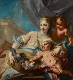 Venus, Cupid and putto