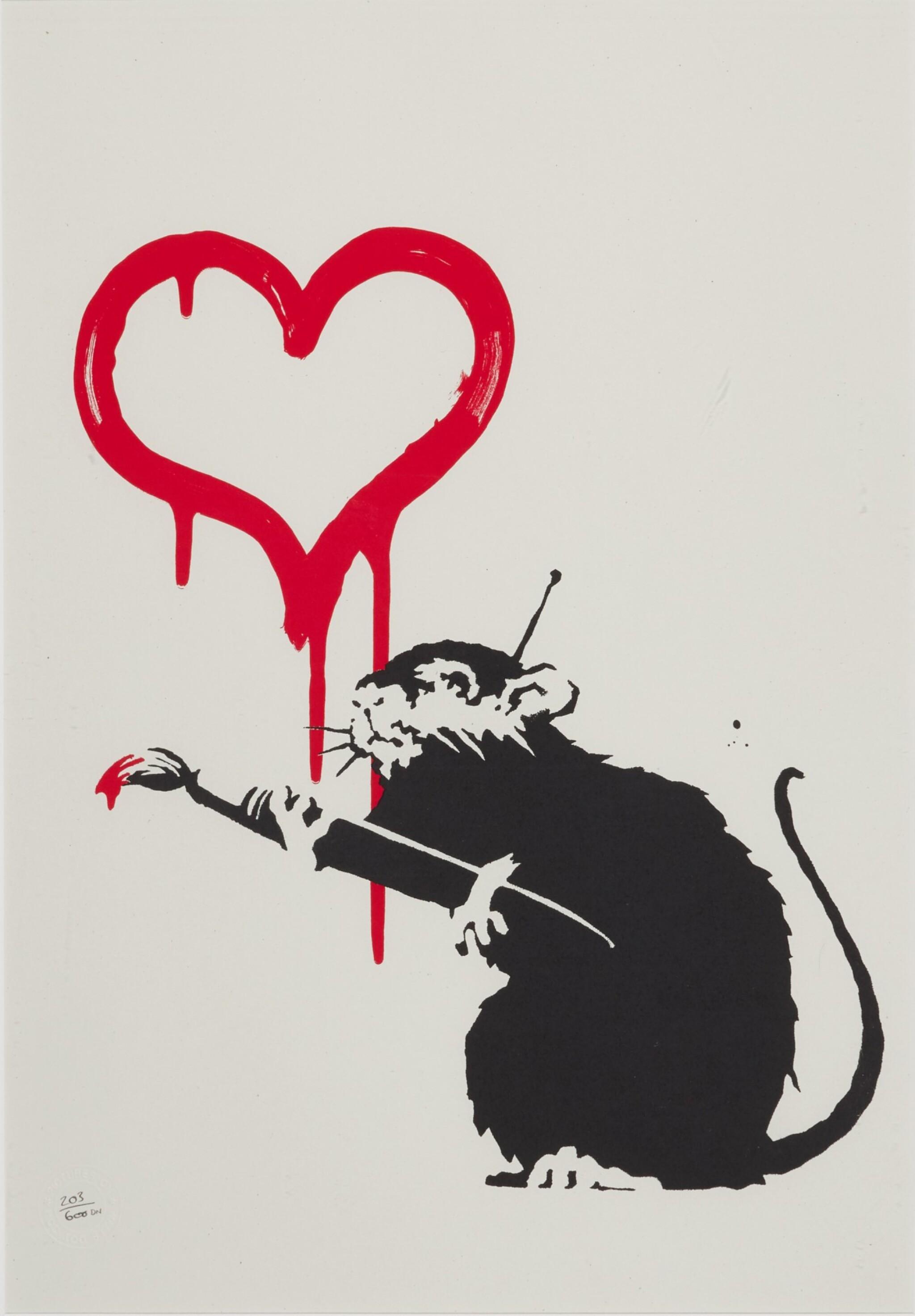 View full screen - View 1 of Lot 5. Love Rat.