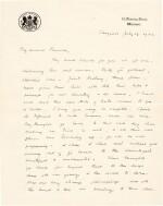 Sir Winston Churchill | autograph letter signed, to Pamela, Lady Lytton, 1942