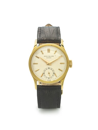 PATEK PHILIPPE | REF 96, A YELLOW GOLD WRISTWATCH MADE IN 1953