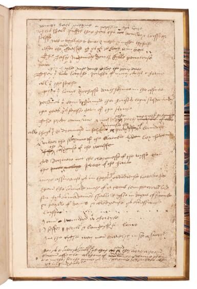 View 2. Thumbnail of Lot 261. Vincent of Beauvais, Le cinquiesme volume... Miroir historial, Paris, 1531, later half vellum.