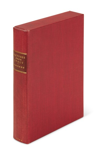 Dickens, Pictures from Italy, 1846, first edition