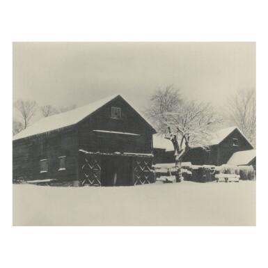 ALFRED STIEGLITZ |  BARN AND SNOW