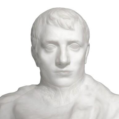 View 11. Thumbnail of Lot 1016. Auguste Rodin 奧古斯特・羅丹 | Napoléon Enveloppé dans Son Réve 逐夢的拿破崙.