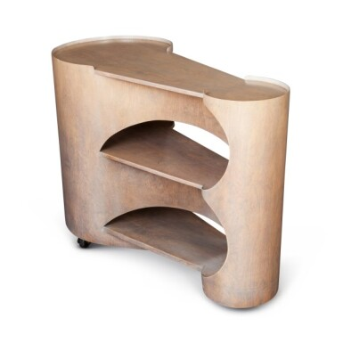 View 1. Thumbnail of Lot 92. Gerald Summers, 1899-1967   Isokon Trolley.