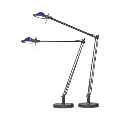 "View 2. Thumbnail of Lot 296. Pair of ""Berenice"" Table Lamps, Model D12."