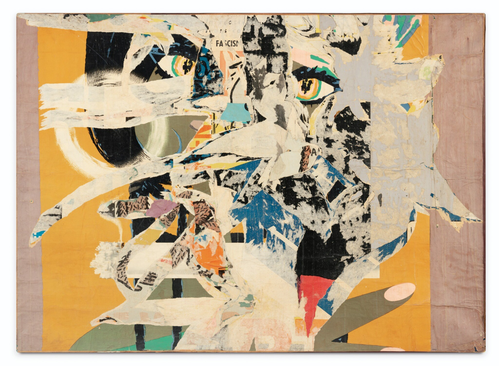 View full screen - View 1 of Lot 113. RAYMOND HAINS | UNTITLED NO. 19.