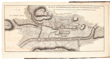 View 2. Thumbnail of Lot 110. Burgoyne | A State of the Expedition from Canada, 1780.