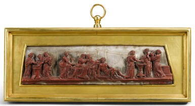 ITALIAN, ROME, CIRCA 1800-1830 | AFTER THE ANTIQUE | RELIEF WITH THE ALDOBRANDINI WEDDING